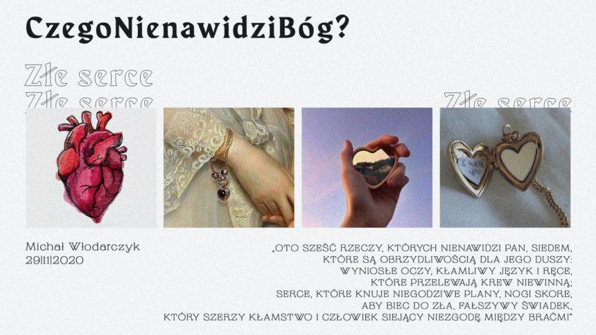 SIENNA ONLINE (29.11) – Złe serce (Michał Włodarczyk)