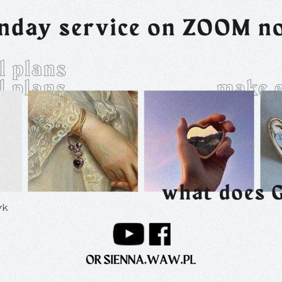 SUNDAY SERVICE ON ZOOM (29.11) – Make evil plans (Michał Włodarczyk)