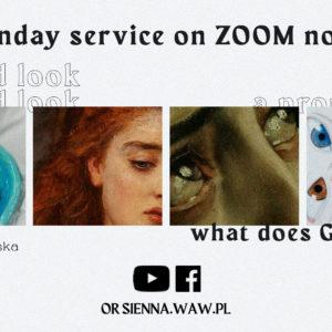 Sunday service in english (15.11) – A proud look (Bogna Kuczyńska)