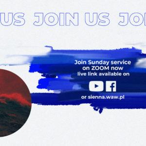 SUNDAY SERVICE ON ZOOM (1.11) – Noach, Flood and the Arc