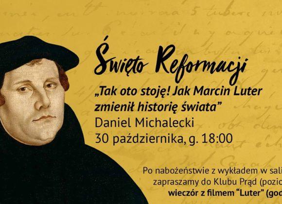 Święto Reformacji na Siennej