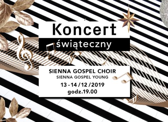 Koncert Świąteczny Sienna Gospel Choir