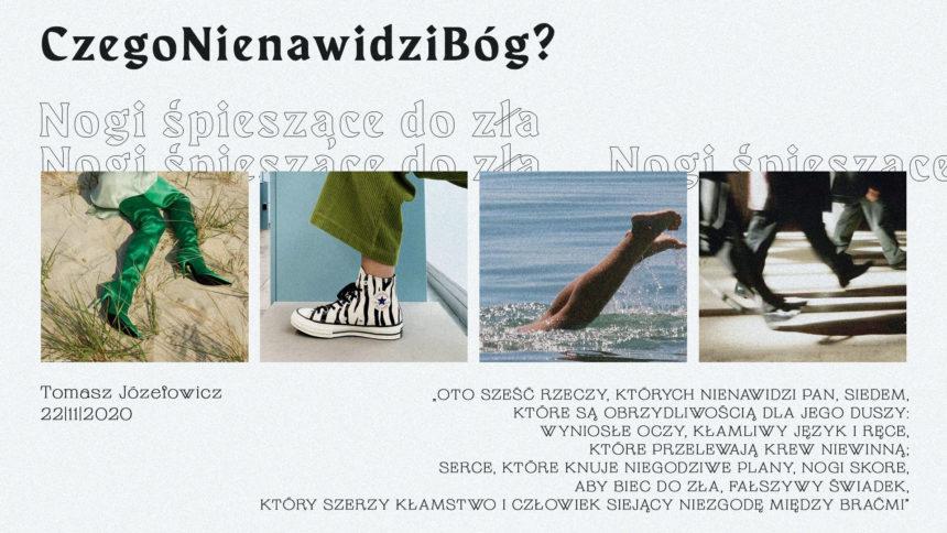 SIENNA ONLINE (22.11) – Nogi śpieszące do zła (Tomasz Józefowicz)