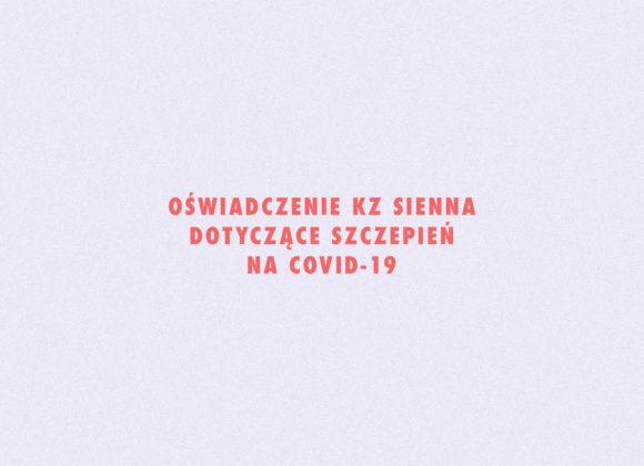 Oświadczenie w sprawie szczepień na COVID-19