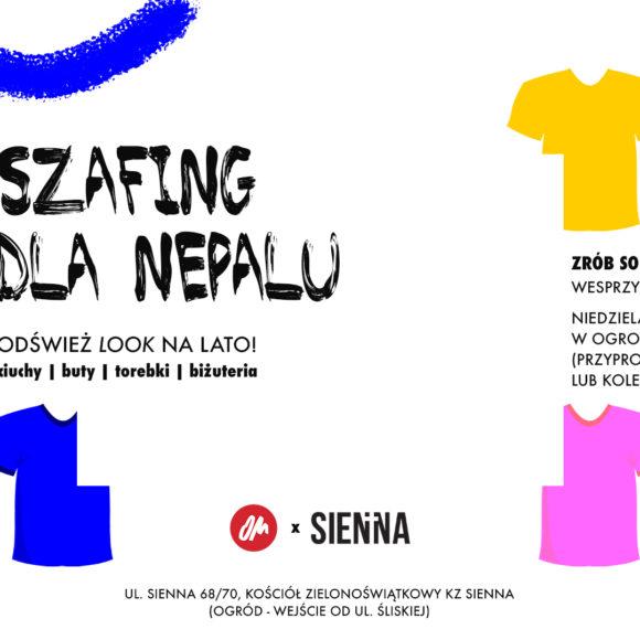 Szafing dla Nepalu – kiermasz ubrań!